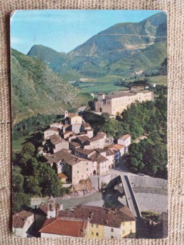 Piobbico-Pesaro-Castello-Brancaleone-cartolina-viaggiata-senza-francobollo