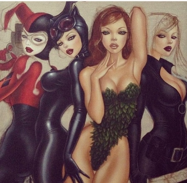73 best images about poison ivy on pinterest catwoman - Gotham palma ...