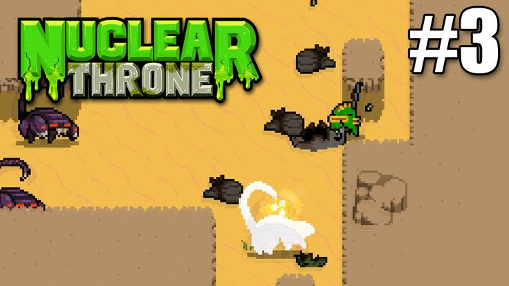 How many scorpion enemies can I take a once in my Nuclear Throne Gameplay #3 video?  https://youtu.be/jK4e8yZHK1I