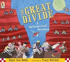 The Great Divide by Dayle Ann Dodds is a funny book that's perfect for teaching division. Click here for details.