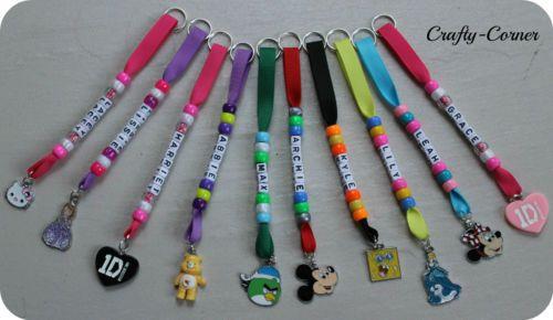 Bag Tag - school bag / lunch box name keyring kids children personalised gift | eBay
