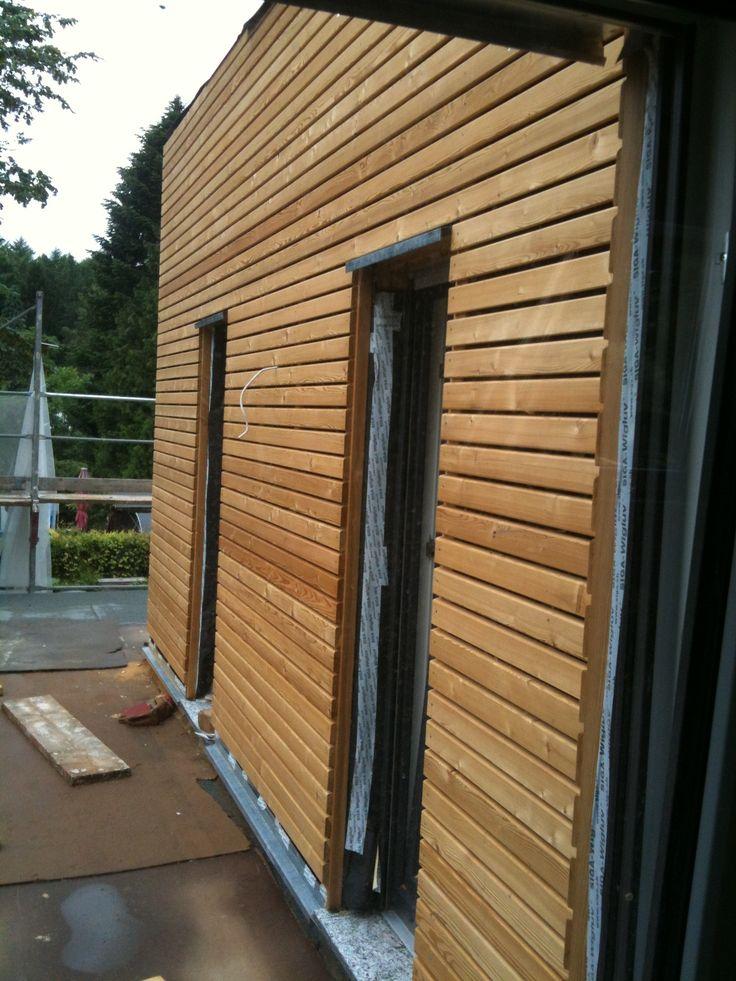 Wundervoll Holzverschalung Terrasse (Sibirische Lärche)   Haus und Garten  HW37