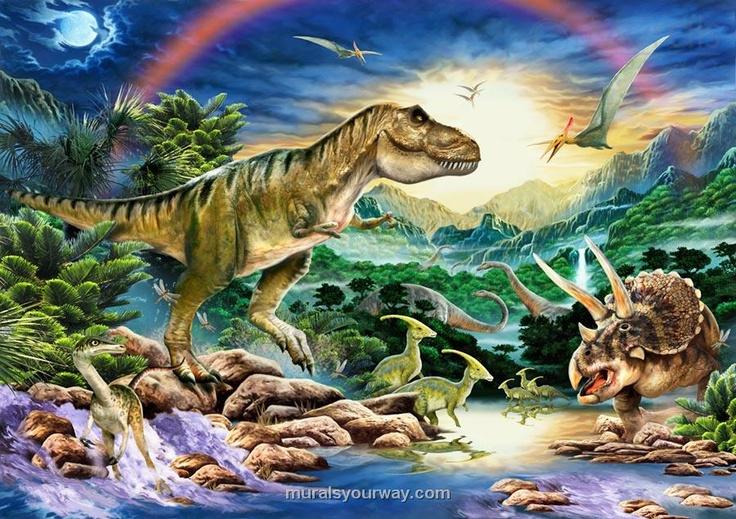 T Rex Mural