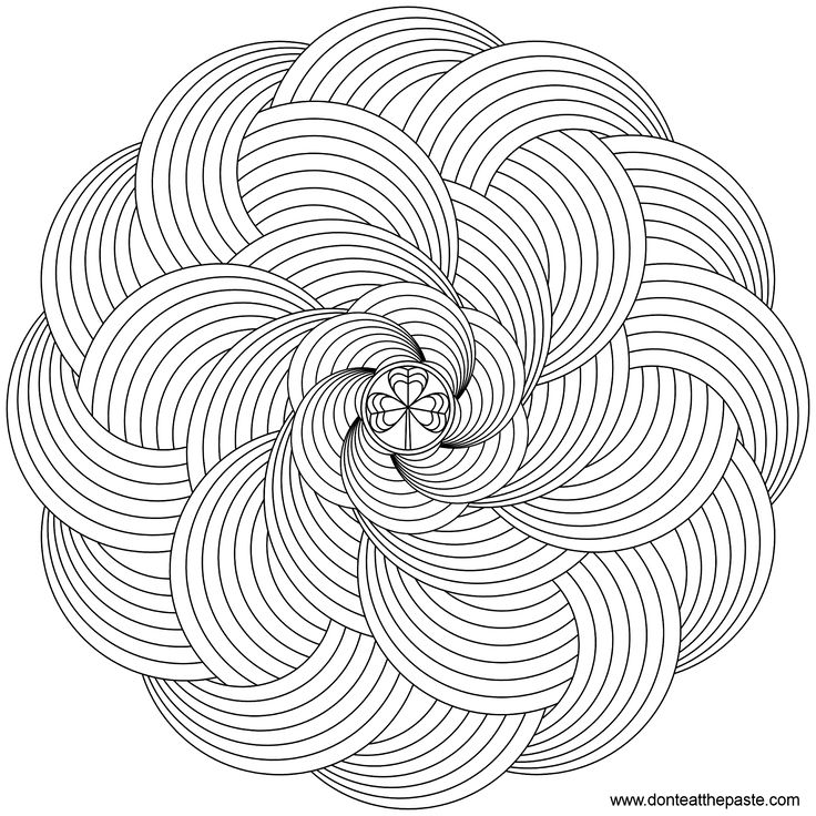 advanced printable mandala coloring pages millimount coloring pages