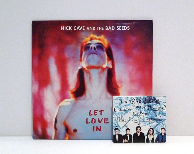 Etsy Your Place To Buy And Sell All Things Handmade The Bad Seed Vintage Vinyl Records Vinyl