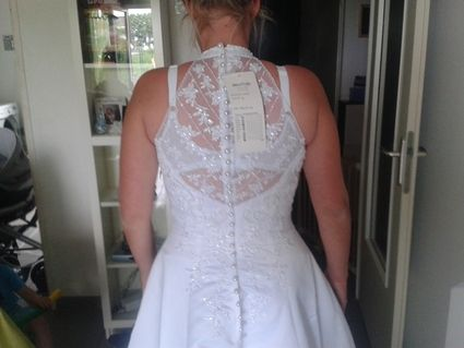 Robe de mariée d'occasion taille 46 de chez Morelle Mariage - Pas de Calais