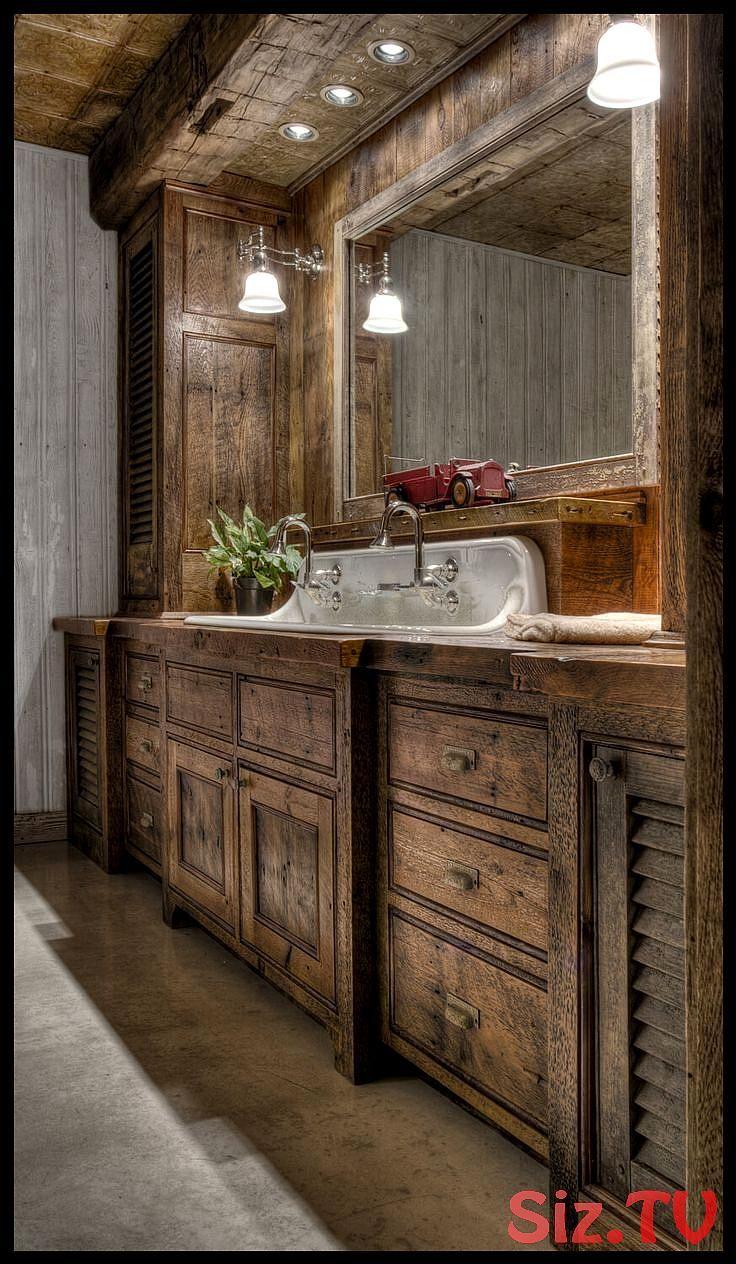 35 Rustikale Badezimmer Waschtisch Ideen Fur Ihre Folgende