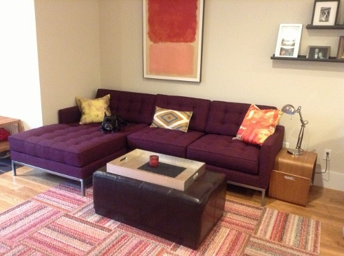 Sullivan Sectional in Key Largo Aubergine : thrive sectional - Sectionals, Sofas & Couches