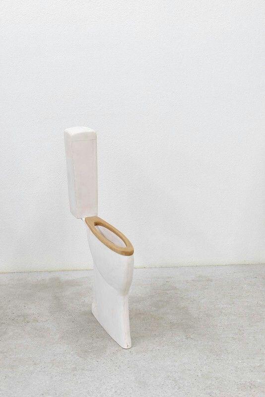 Toilet by Erwin Wurm