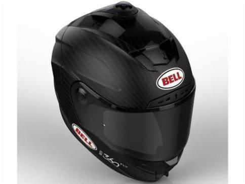 """Bell anuncia capacete """"inteligente"""" com câmera de 360° - Eventos Motociclísticos"""