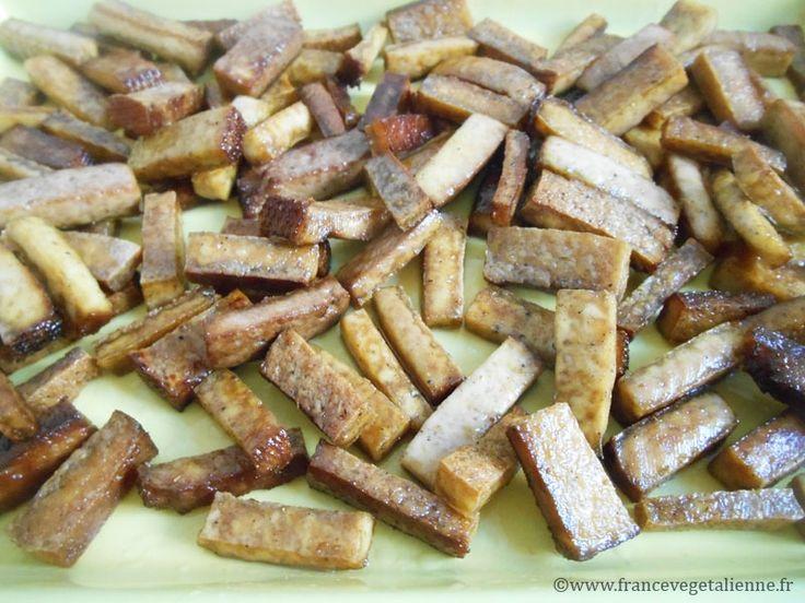 Lardons de tofu fumé(vegan)