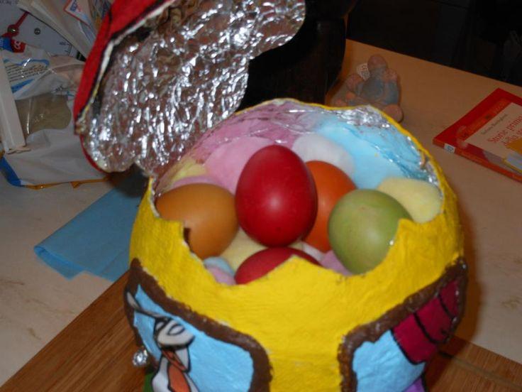 Sorpresa dentro...uova sode colorate!