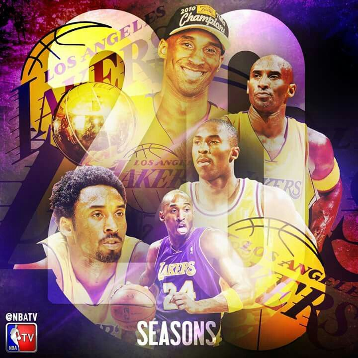 NBA record with one team 20 years, the ONE, the ONLY, KOBE BRYANT