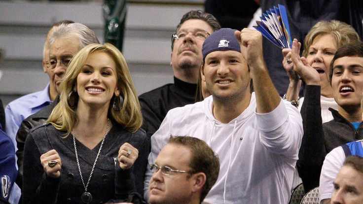 Tony Romo, Jason Witten and a number of their Cowboys teammates were spectators as their wives and girlfriends took part in a charity event.