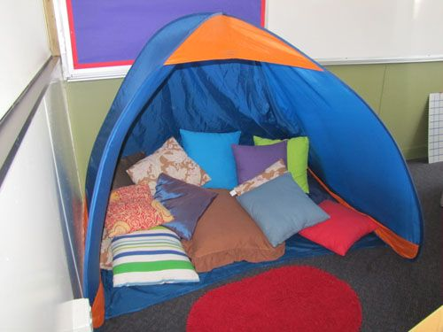 Irresistible Ideas for play based learning » Blog Archive » Let's go camping Great for a library too