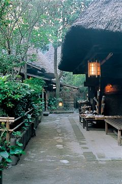 Gajoen ryokan in Kagoshima, Japan