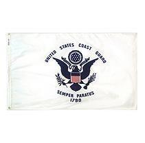 Annin - U.S. Coast Guard Military Flag 3x5 ft. Nylon SolarGuard