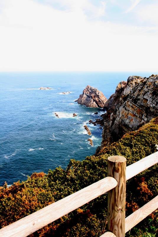 Cabo Peñas. Asturias. España