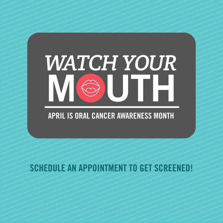 WATCH YOUR MOUTH! April is Oral Cancer Awareness Month, so come get screened! Early detection is key. Request your appointment today at  http://www.stutlerdental.com/appointment.html