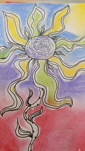 Tvoříme s dětmi  ☺: Fantazijní květiny