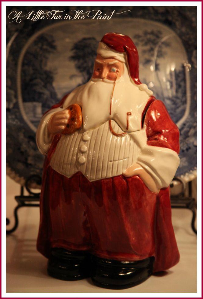 Santa Cookie Jar - pattern
