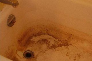 How To Remove Hard Water Stains From Fiberglass Showers Hacks Pinterest Cleaning And Tub