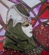 """Dettaglio del disegno """"Diamante"""" di Jennifer Egista.  #ColoredPencils #WatercolorPencils #Venice #VeniceItaly #VeniceCarnival #Art #Drawing #Cretacolor #CretacolorMonolith #CaranD'Ache #FabrianoTiepolo"""