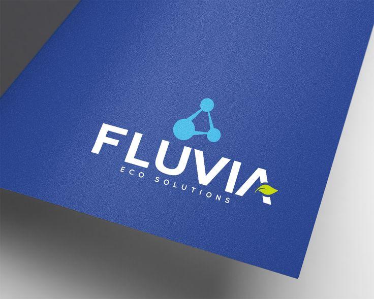 Logotipo Fluvia Eco Solution