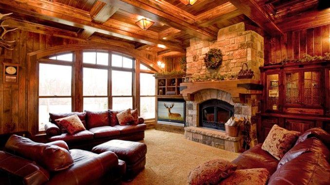 Rathskeller Retreat Adirondack Or Lodge Style Basement