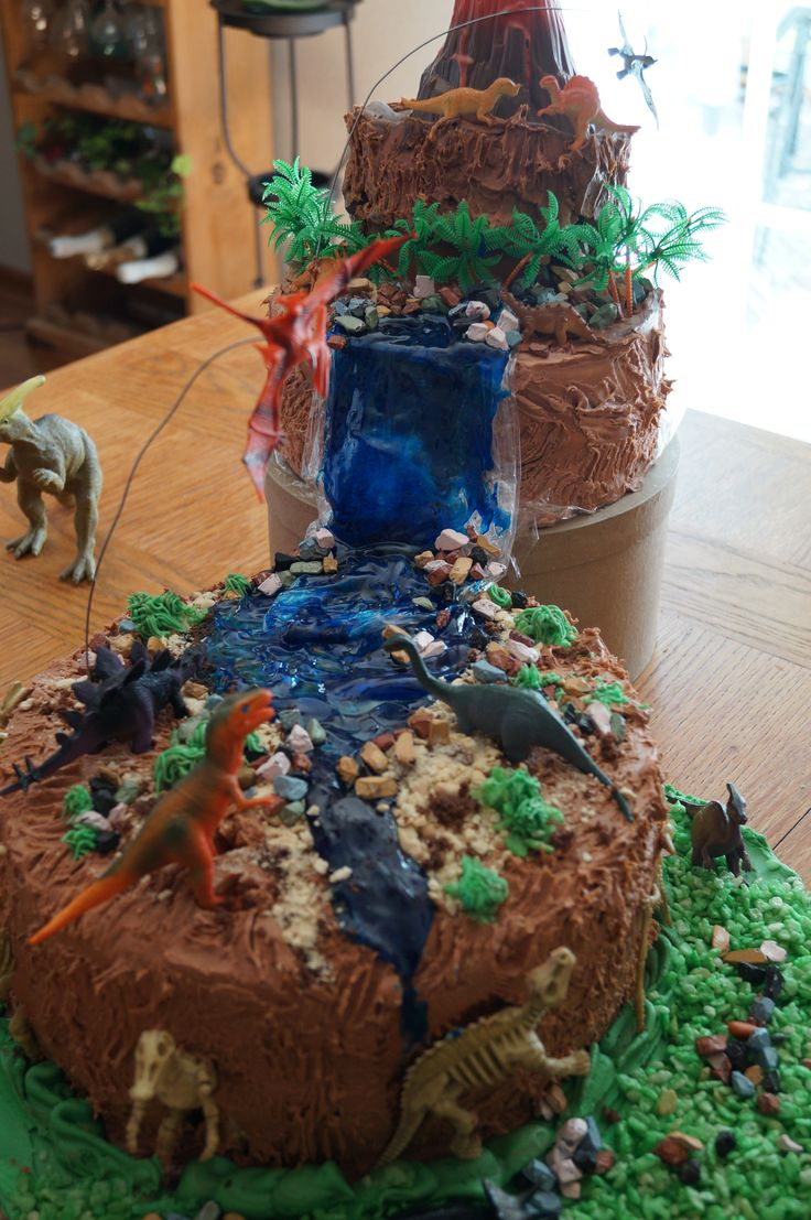 Dinosaur Cake Love The Idea Of The Flying Dino S
