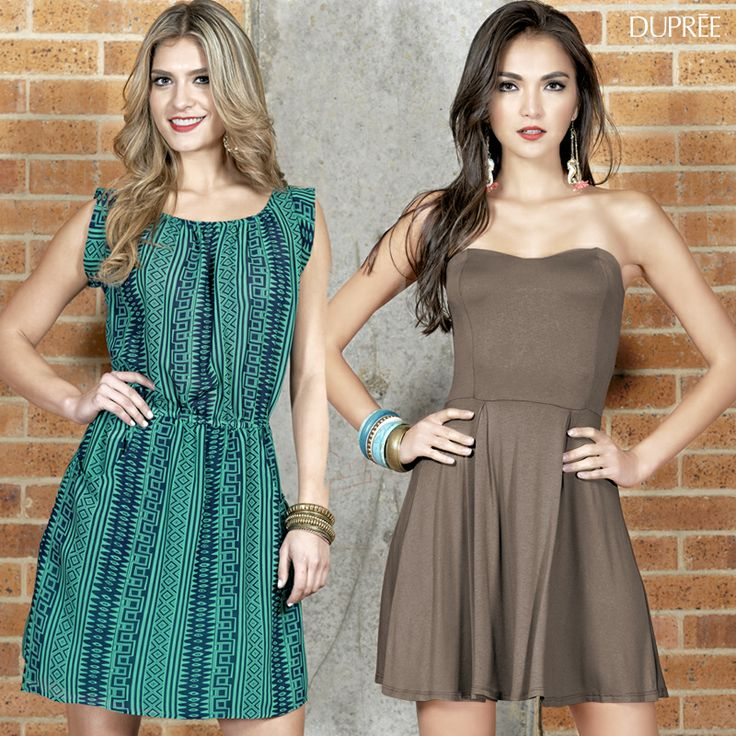 ¡Anímate a usar hoy un vestido!