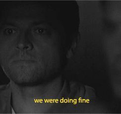 Dean still refuses to admit he's not straight and Derek and Cas agree he needs to own up to his feelings for Cas. Stiles shows up with a snarky retort.