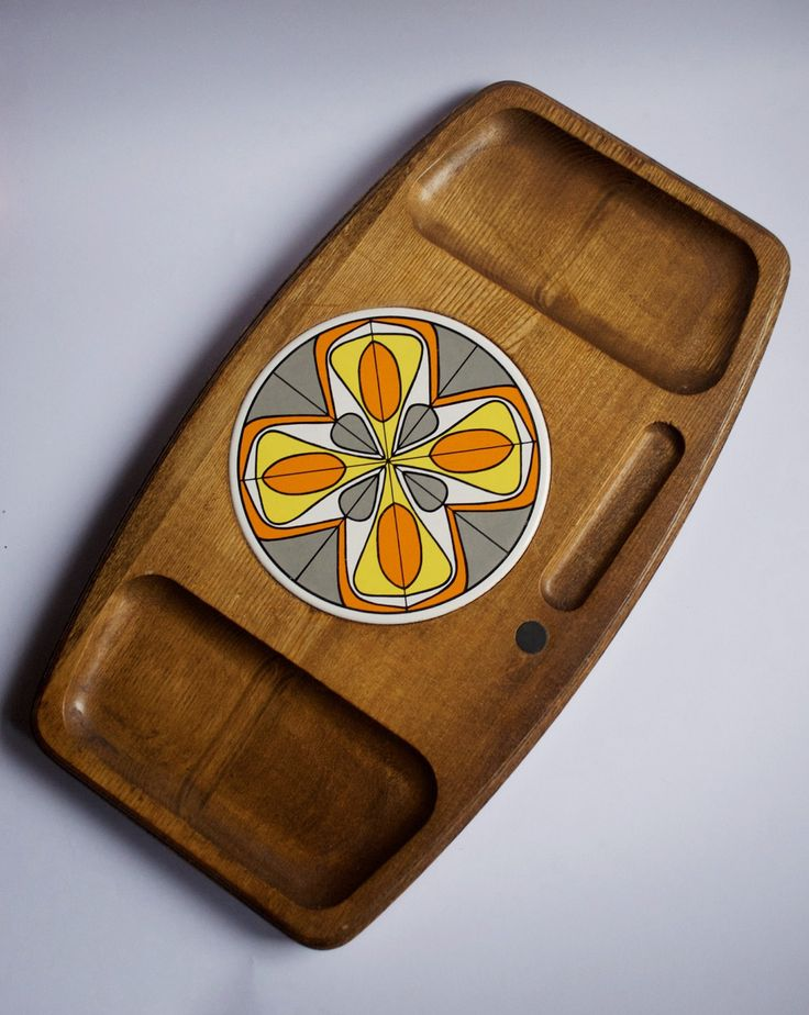 A personal favourite from my Etsy shop https://www.etsy.com/au/listing/242370650/mid-century-platter