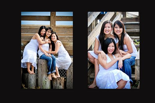 3 sisters picture poses | Flickr: Discussing 3 person photoshoot poses!! in The Portrait Group