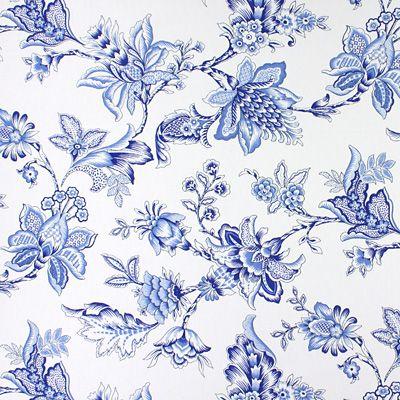 Izabela - Bawełna - Poliester - błękit królewski