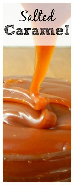 If you love Salted Caramel, try this 3 ingredient homemade Salted Caramel Sauce. Perfect for pies, brownies, ice cream or cupcakes!
