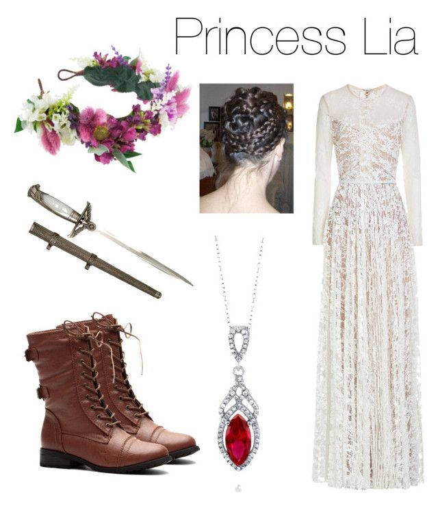 Princess Lia inspired outfit . The Kiss of Deception