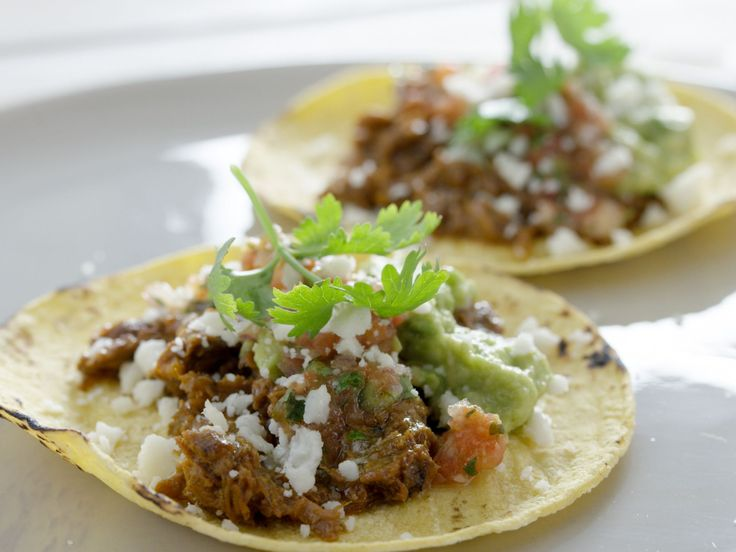 Pot Roast Tacos recipe from Tyler Florence via Food Network