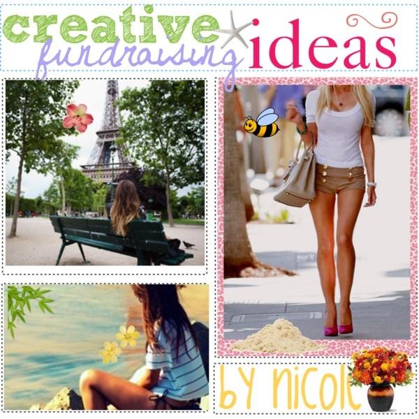 Creative fundraising iDEAS. (: