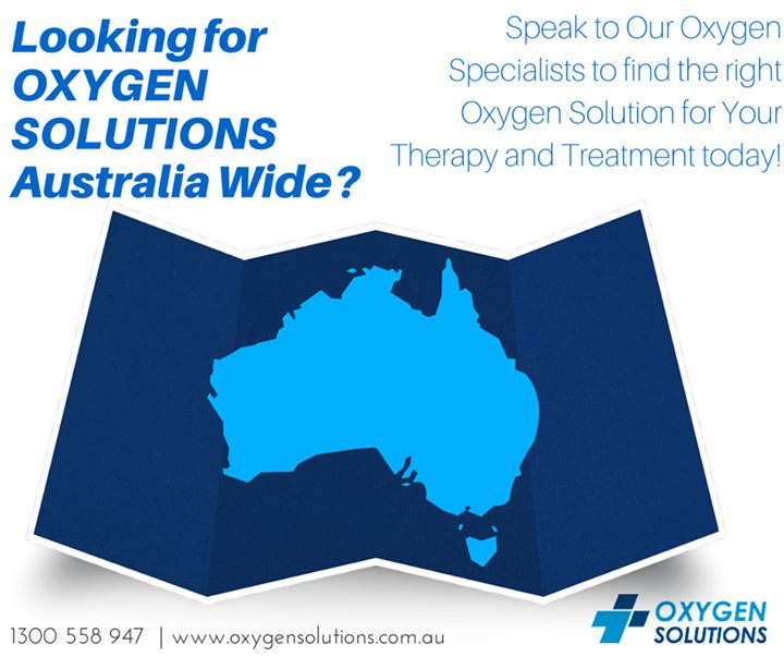Oxygen Solutionss have medical grade oxygen therapy specialists located around Australia including Sydney, Melbourne, Brisbane, Adelaide and Perth. We are confident that regardless of your location we will be able to deliver the right solution to you.Inquire about how we can help you with your Oxygen Therapy and Treatment by contacting us through our contact information found here -http://oxygensolutions.com.au/contact-us/