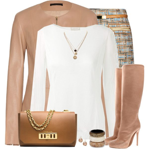 """Matching Leather Jacket & Boots"" by daiscat on Polyvore"