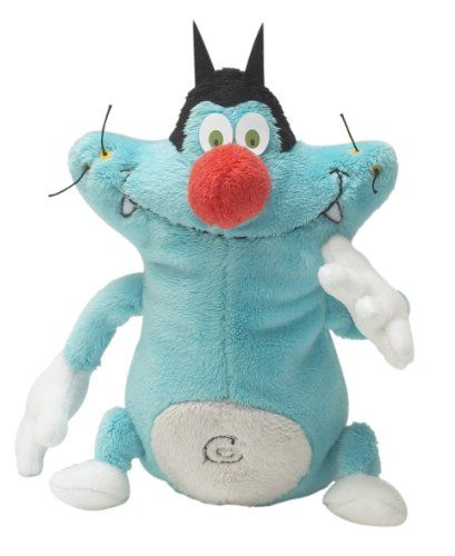 BESTSELLER! Plushtoy 6'' Oggy and The Cockroaches $16.99