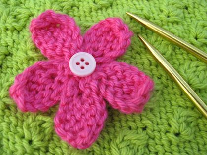 I Wish I Had The Patience To Knit Stuff Like This Knitted Flowers Delectable Free Knitted Flower Patterns