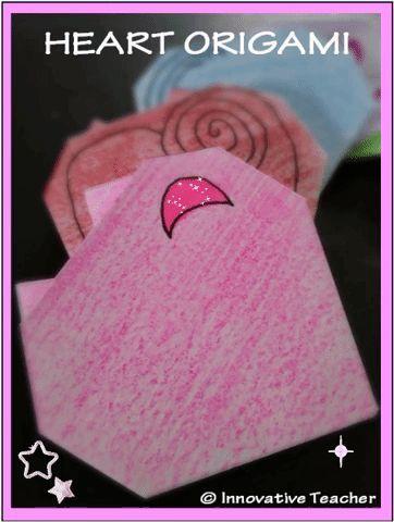 Heart Origami #valentinesday