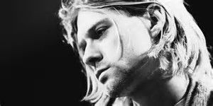 Love this one of Kurt Cobain. Reflective. Nice.