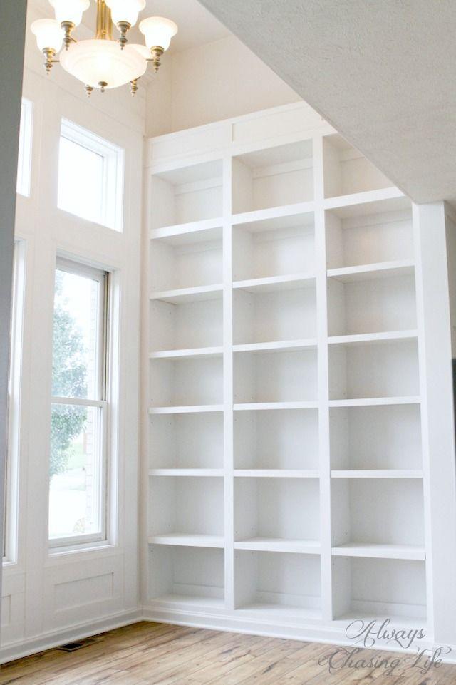 Best  Tall Bookshelves Ideas On Pinterest Library Bookshelves - Tall bookshelves