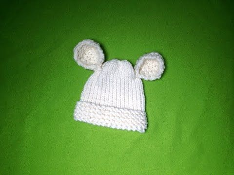 How to Loom Knit a Baby Hat with Ears (DIY Tutorial), My Crafts and DIY Projects