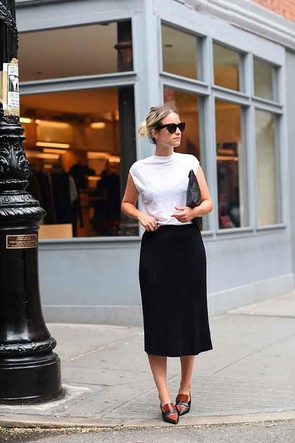 10 looks de trabalho com sapatilha | Idéias de moda, Looks e