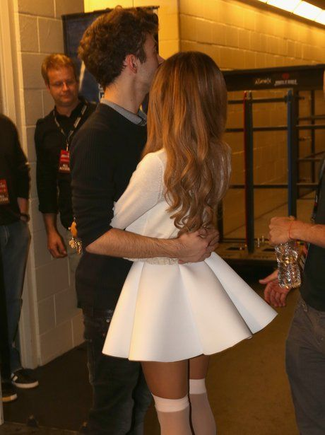 Ariana Grande and Nathan Sykes