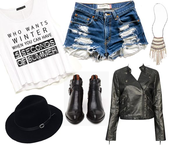 shop our new 5 Seconds of Summer graphics & create your perfect concert outfit for the #WWA tour!!!